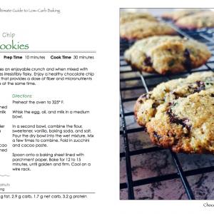 Chocolate Chip Zucchini Cookies