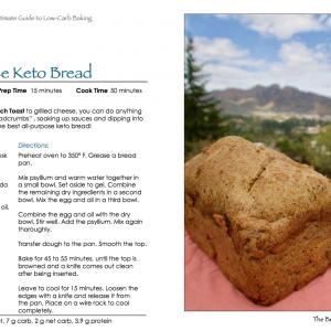 The Best All-Purpose Keto Bread