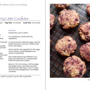 Blackberry Lime Cookies