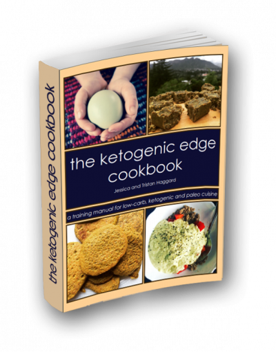 ketogenic edge cookbook cover product page featured image