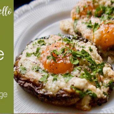 portobello egg bake featured image
