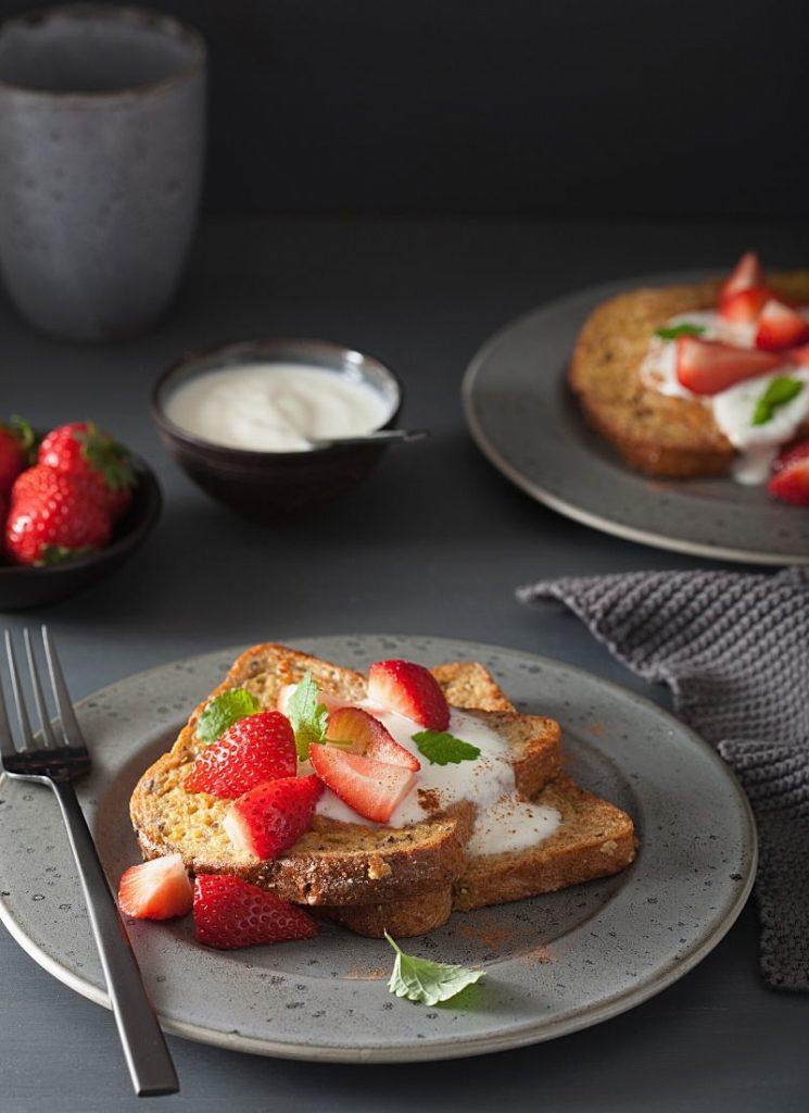 grain free bread French toast recipe
