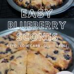 keto blueberry scones recipe gluten free diary free low carb 2