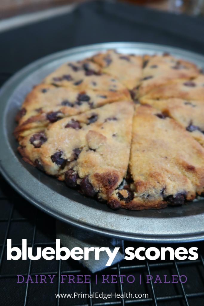 keto blueberry scones recipe gluten free diary free low carb 3