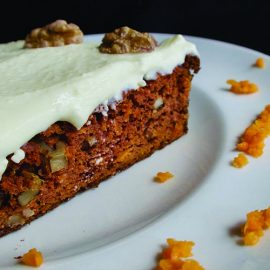 Ketogenic Carrot Cake with Cream Cheese Frosting