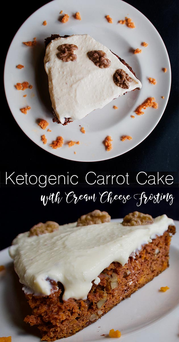 ketogenic carrot cake with cream cheese frosting 3
