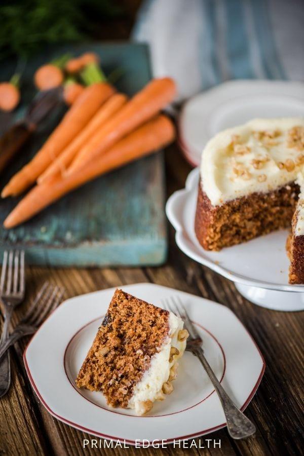 low carb keto carrot cake easy recipe