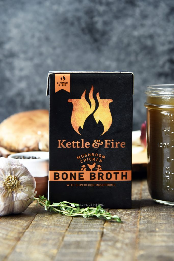 kettle and fire ketogenic chicken soup 1