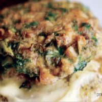 spinach and salmon burger feat image