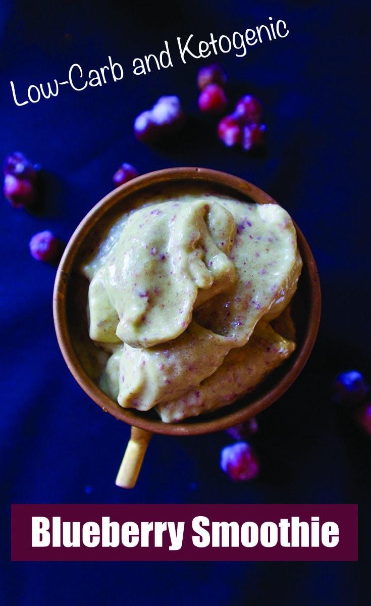 Blueberry Ketogenic Smoothie - Primal Edge Health