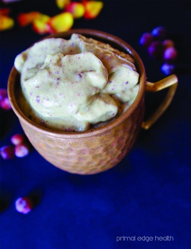 blueberry ketogenic smoothie