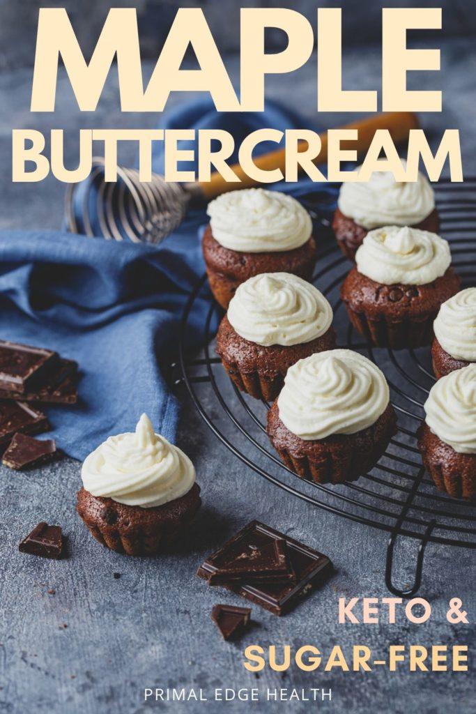 easy buttercream keto frosting