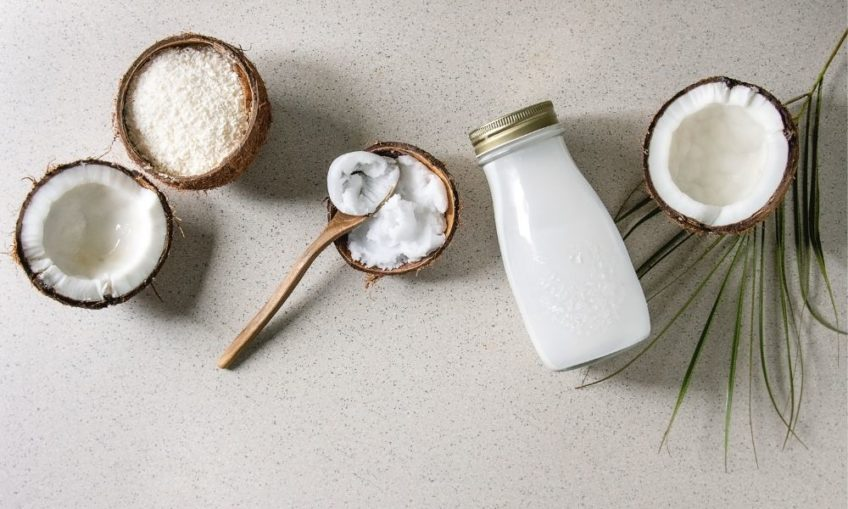 Coconut Ingredients for a keto diet