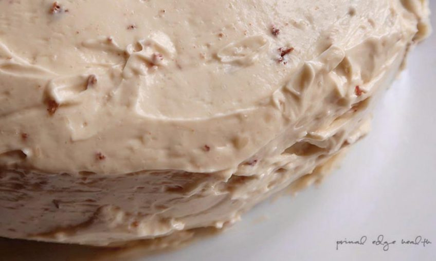 Maple Buttercream Ketogenic Frosting feat image