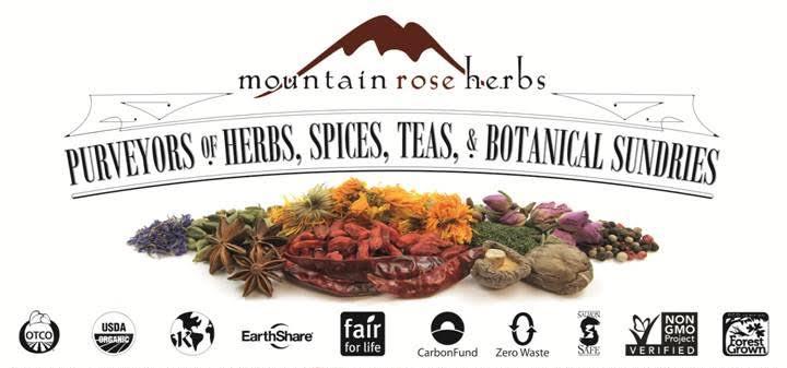 mountain rose herb banner