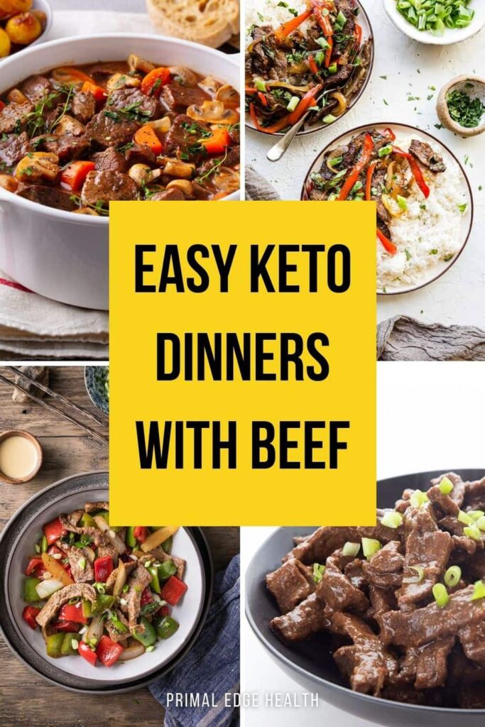 Easy Keto Dinners with Beef recipes