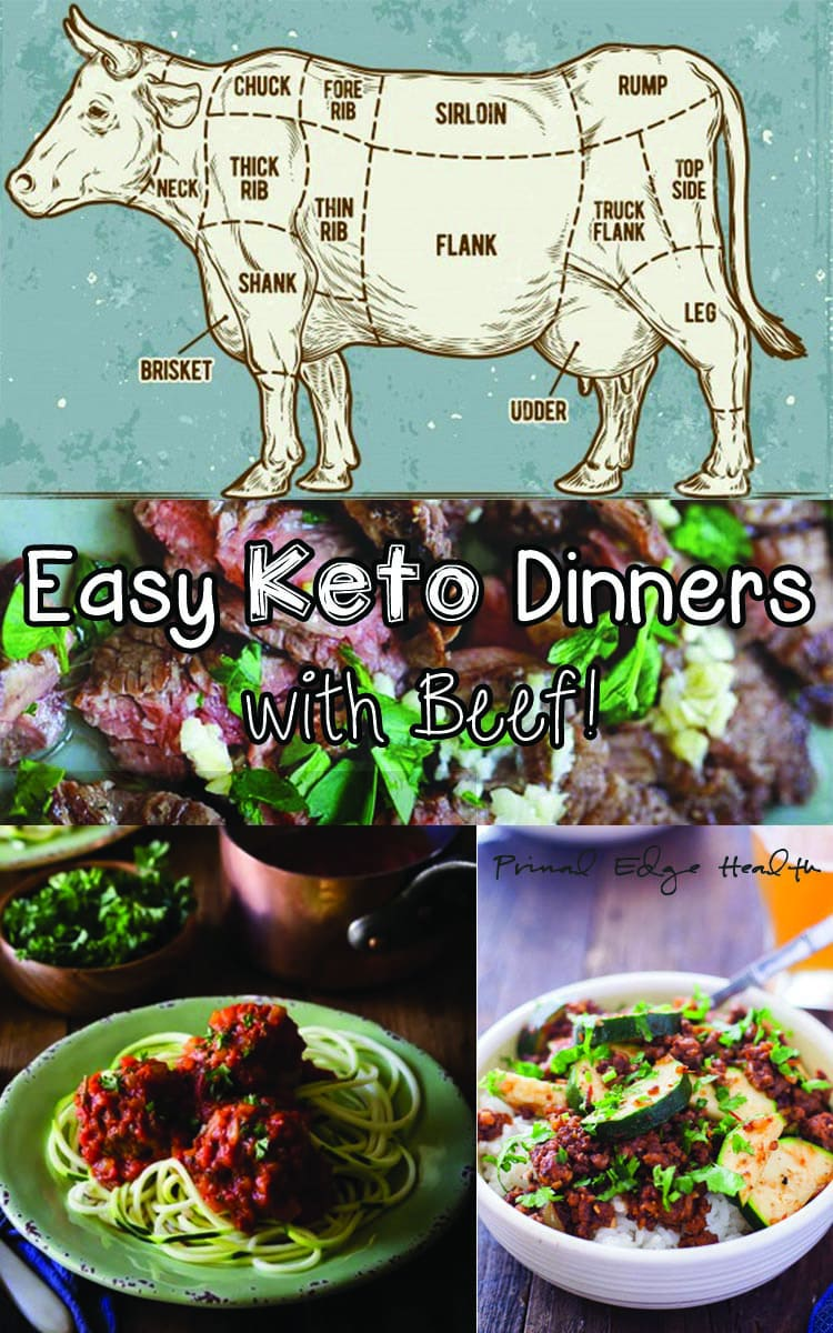 Easy Keto Dinners with Beef! - Primal Edge Health