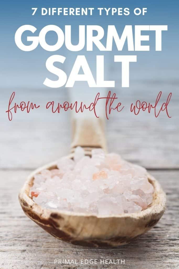 Gourmet salt from around the world