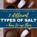 how to use different types of salt
