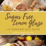 sugar free keto lemon glaze recipe variation