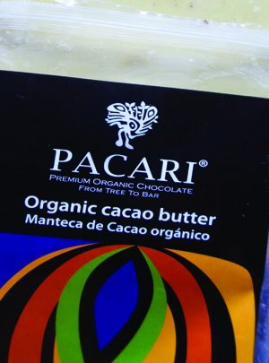 label organic cacao butter