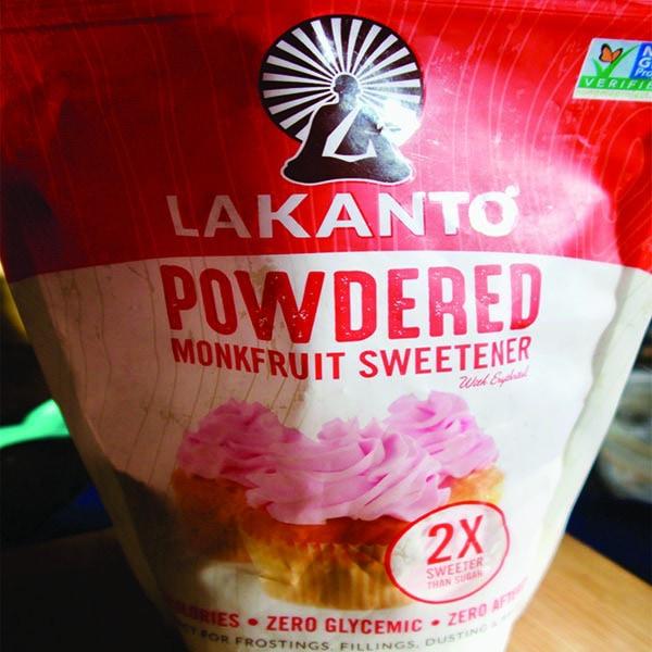 Powdered Monkfruit Sweetener 2:1 Sugar Substitute - Primal ...