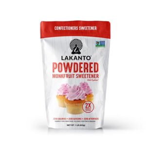 Powdered Monkfruit Sweetener 2:1 Sugar Substitute