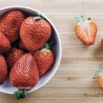 mini ketogenic strawberry shortcake feat image