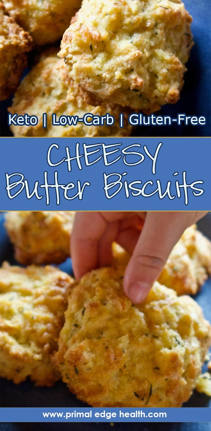Cheesy Butter Keto Biscuits | Primal Edge Health