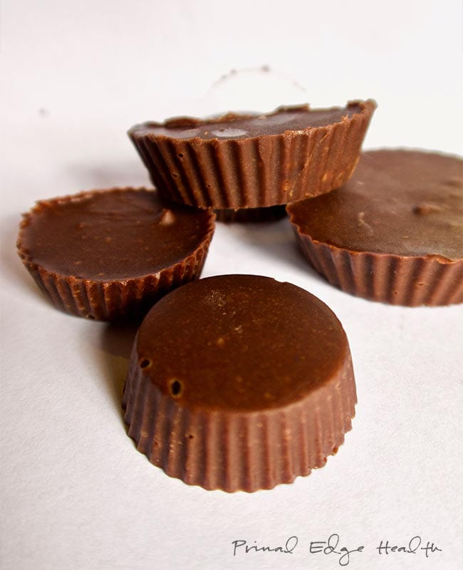 ketogenic chocolate peanut butter cups group