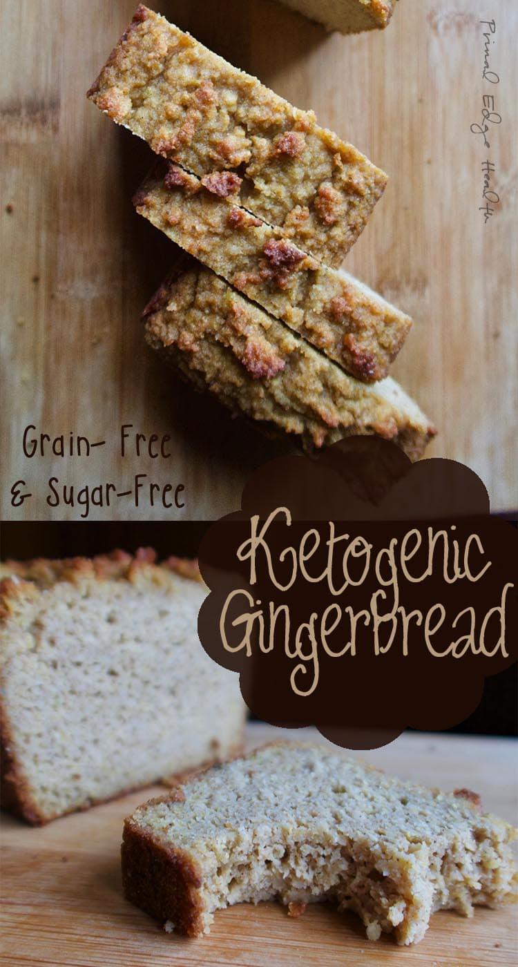 Ketogenic Gingerbread Loaf - Primal Edge Health