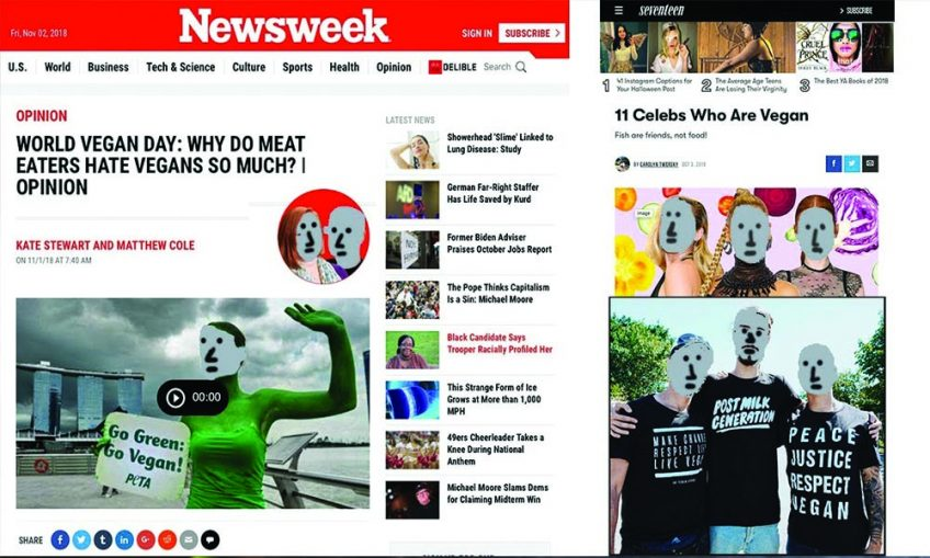newsweek vegan opinion