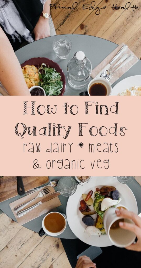 how to find quality foods