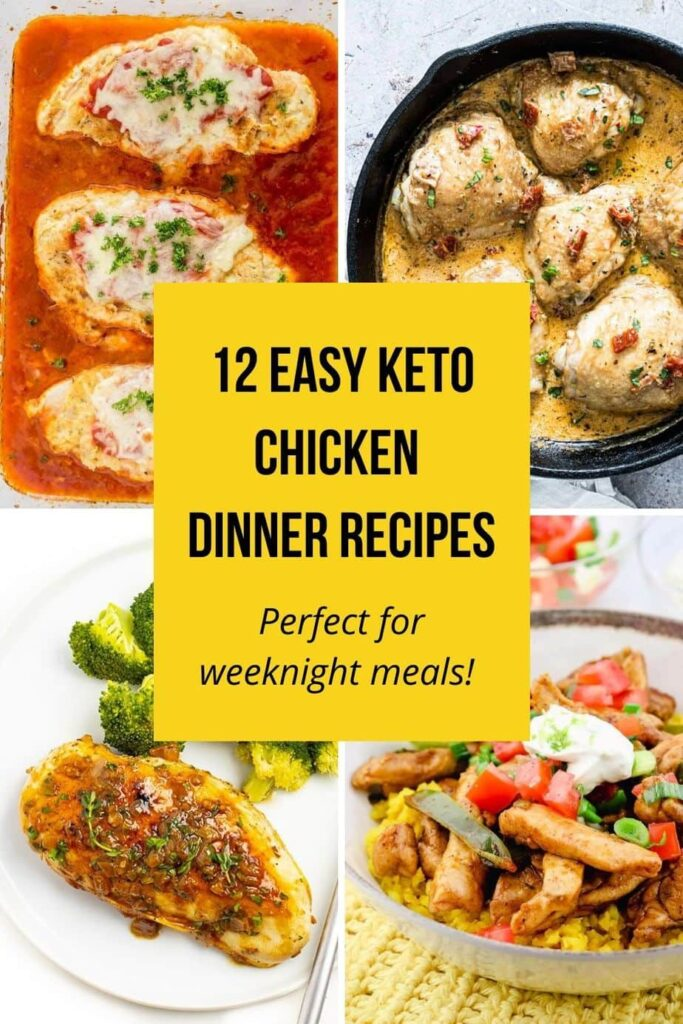 quick and easy keto chicken dinners