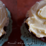 Vanilla Keto Cupcakes with Maple Buttercream Frosting