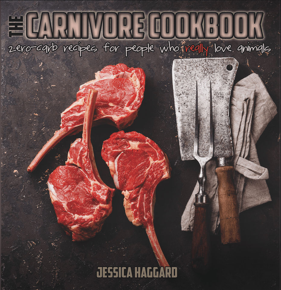 The Carnivore Cookbook cover