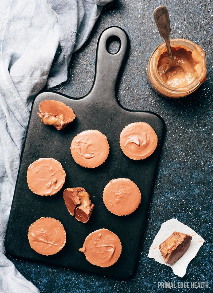 healthy Reese's peanut butter cups recipe
