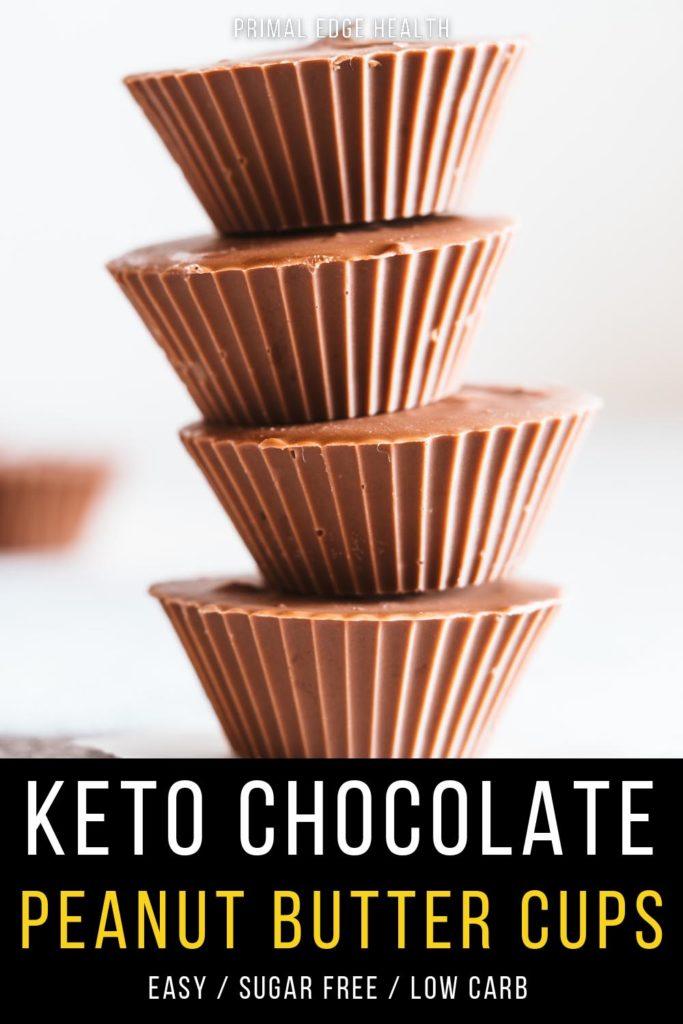 peanut butter cups recipe keto
