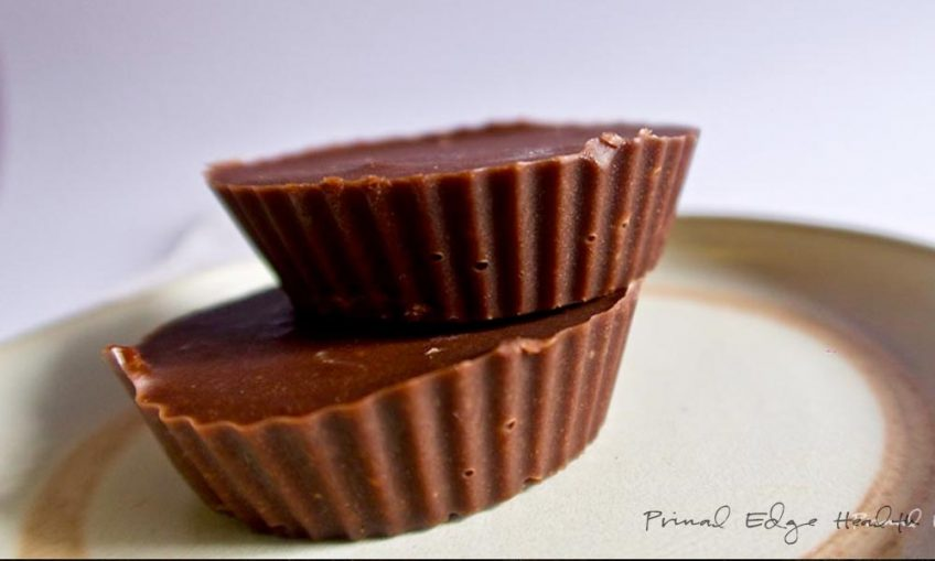 ketogenic chocolate peanut butter cup
