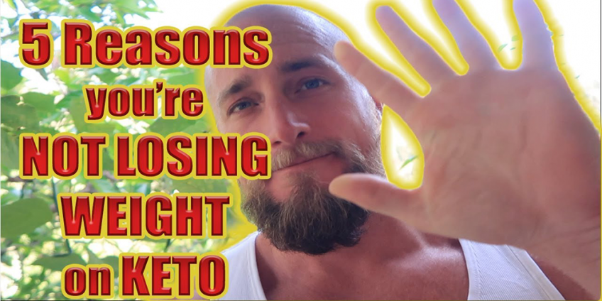 reasons you're not losing weight on keto