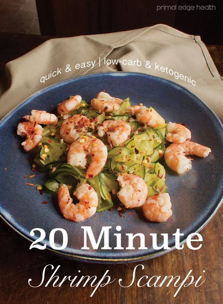 20 Minute Shrimp Scampi