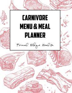 CARNIVORE Meal Planner