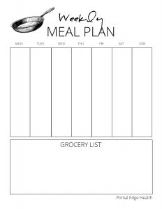 CARNIVORE Meal Planner 2