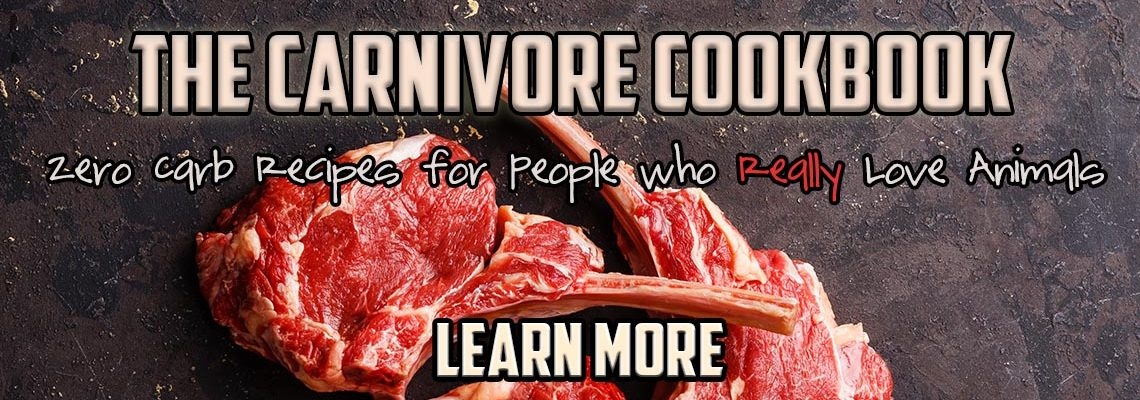 Carnivore cookbook LEARN MORE HEADER