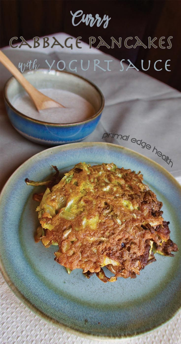Curry Cabbage Pancakes
