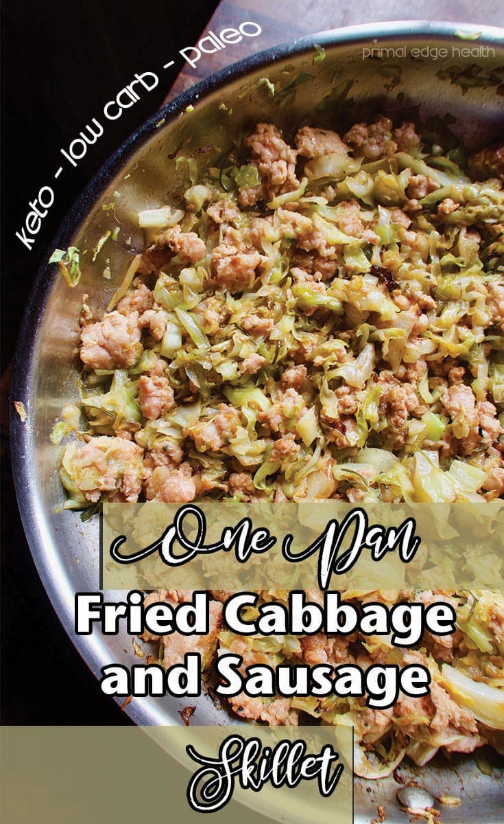 Fried Cabbage and Sausage Skillet