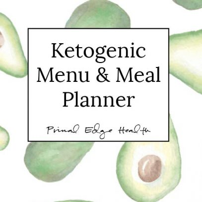 KETOGEIC menu and meal planner cover Product image