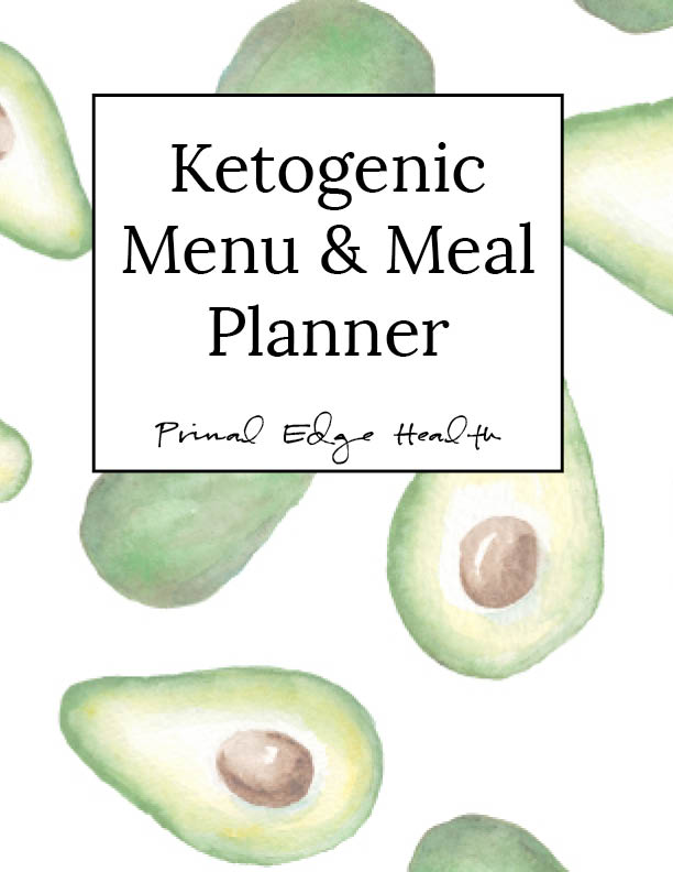 printable KETO meal planner cover