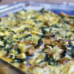 cheesy keto casserole feat image