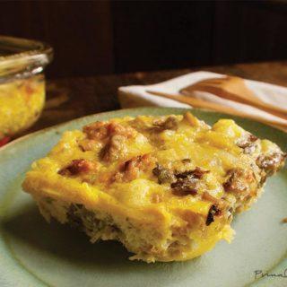 keto breakfast casserole ft image